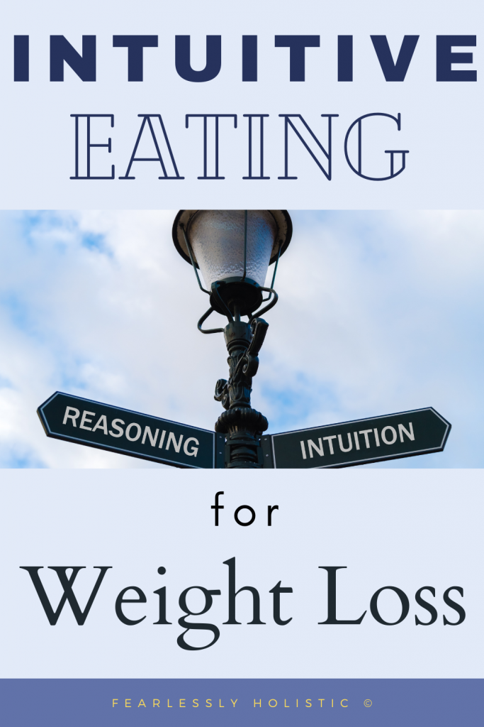 Intuitive eating for Weight Loss