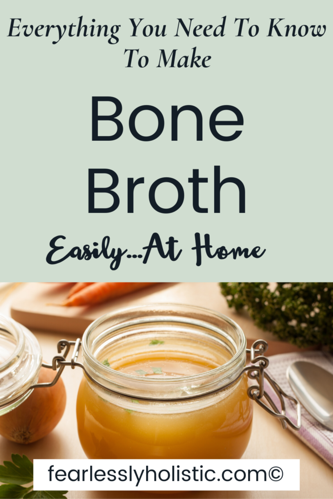 Make Bone Broth Easily at Home