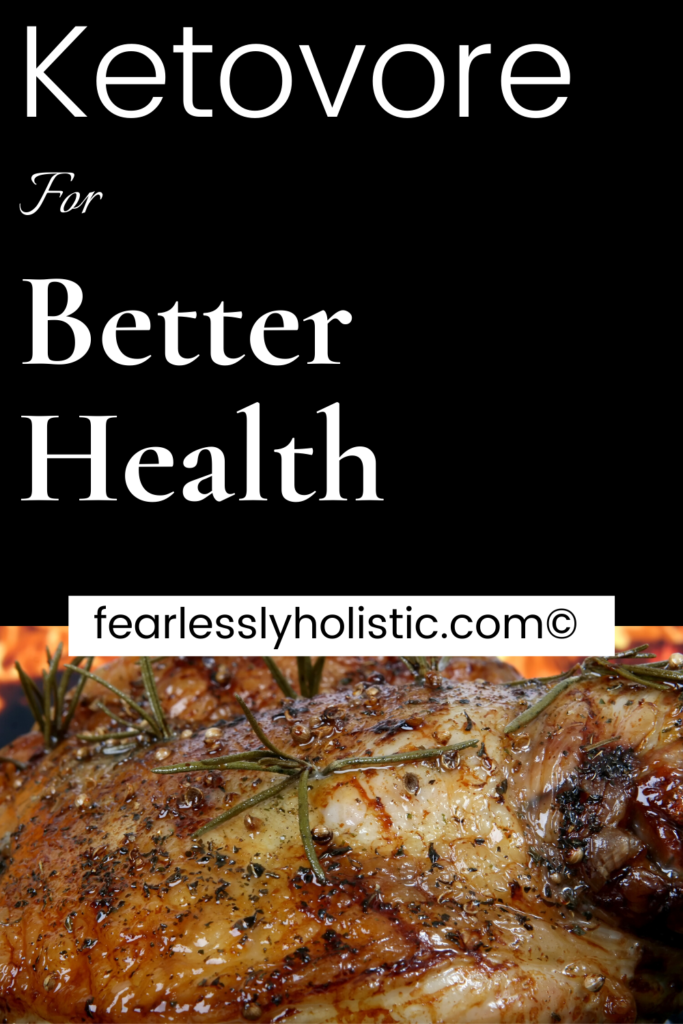 Pinterest image of Ketovore for Better Health