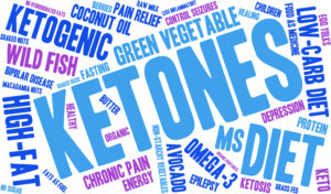 The benefits of Ketosis word cloud