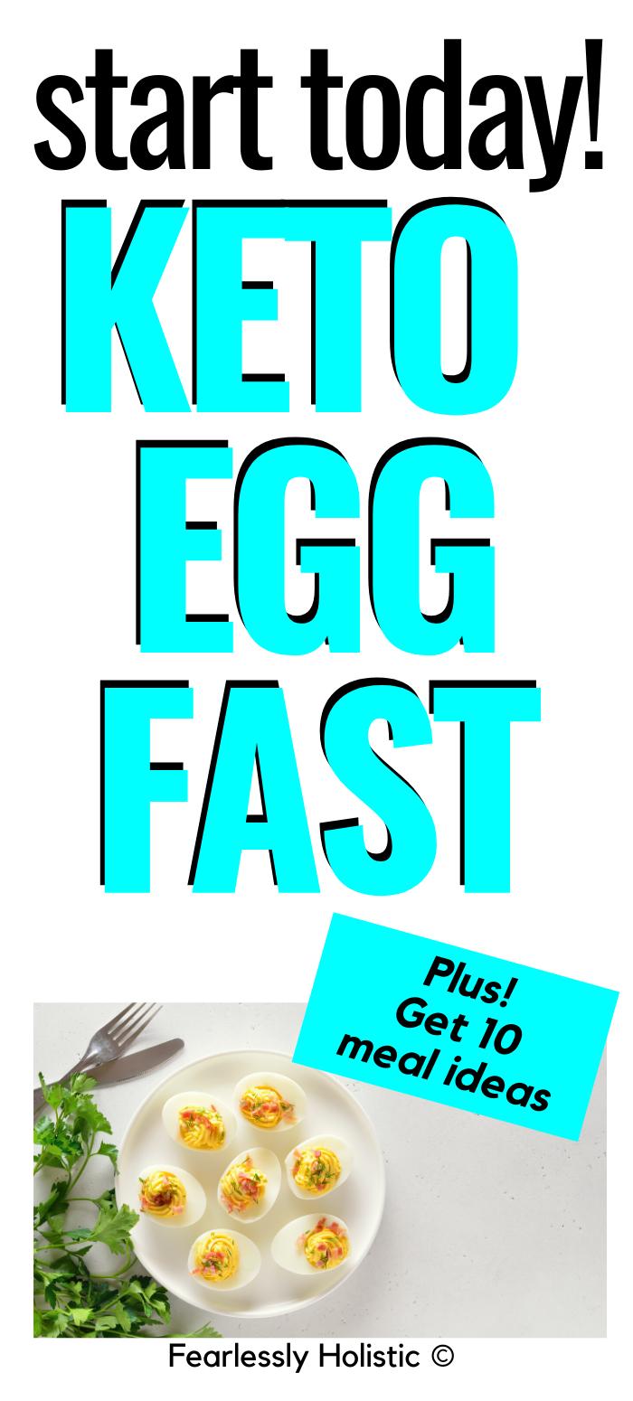 Keto Egg Fast