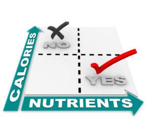 calories versus nutrients