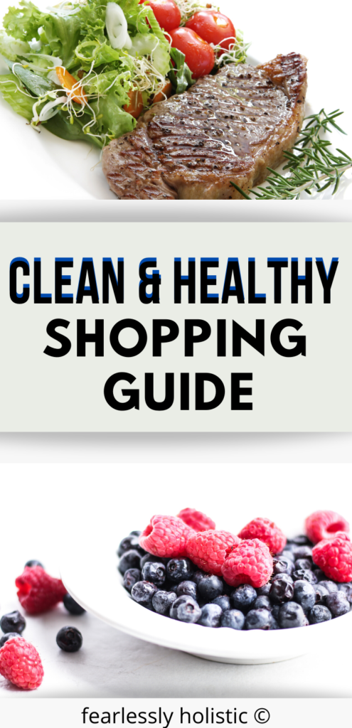 Clean and Healthy Eating Shopping Guide