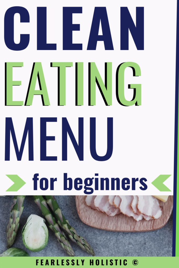 Clean Eating Menu for Beginners