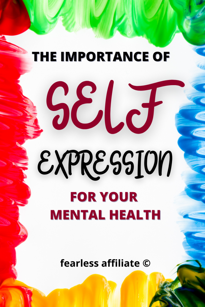The Importance Of Self Expression