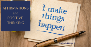 Affirmations and positive thinking